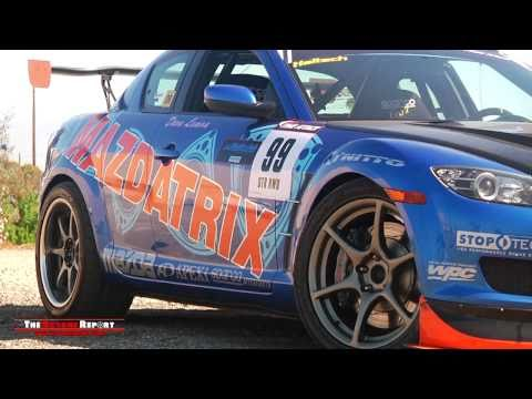 Supercharged Mazdatrix RX-8 Street Time Attack Car