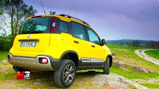 NEW FIAT PANDA CROSS 2016 - FIRST OFF ROAD TEST DRIVE - ENG ITA SUB