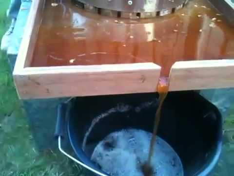 Home made cider press