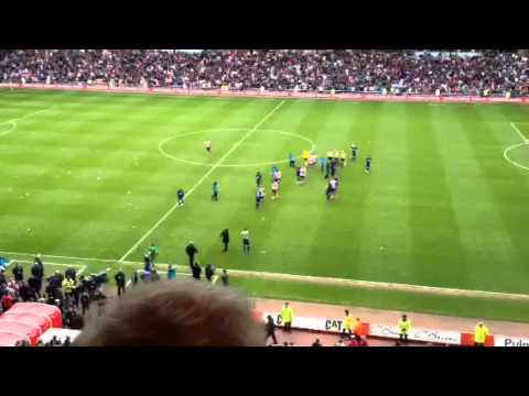 Sunderland v Man Utd final whistle fans taunt Man Utd
