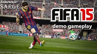 Testujemy demo FIFA 15 (XONE gameplay) - FC Barcelona vs Paris Saint-Germain