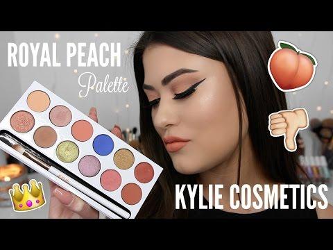 Kylie Cosmetics ROYAL PEACH Palette! Review. Swatches & Comparison