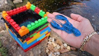 MINI LEGO Pond For My Rare Blue Lobster!