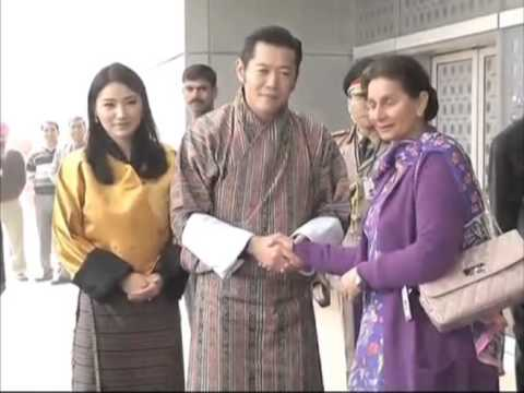 06 Jan 2014 - Bhutan King arrives in New Delhi to fortify bilateral ties with India