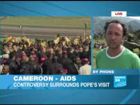 Outcry At Pope's Denunciation Of Condom Use video