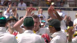 Third Test [AUS v IND] Indian 1st Innings Wickets (161 all out)