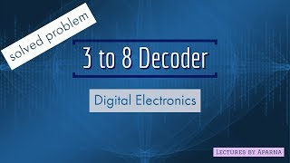 3 to 8 decoder | Solved Gate question | Digital Electronics