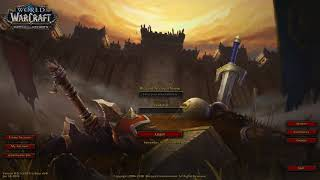 Before the Storm - Warcraft Battle for Azeroth Login Screen with Music