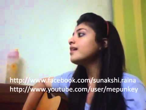 Tere Siva Delhi belly Acoustic Cover By Sunakshi Raina