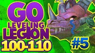 WOW LEGION #5   NO VOY A LLORAR...!! ( GO to 100 - 110 )  