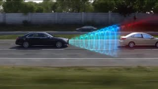 Mercedes-Benz Accident Avoidance -- COLLISION PREVENTION ASSIST PLUS