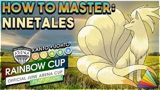 HOW TO MASTER THE DEMON FOX NINETALES IN THE RAINBOW CUP! - Pokemon GO PvP