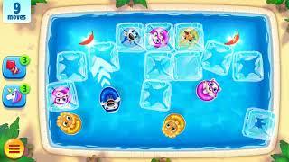 Прохождение игры Talking Tom Pool, уровень 31-40.