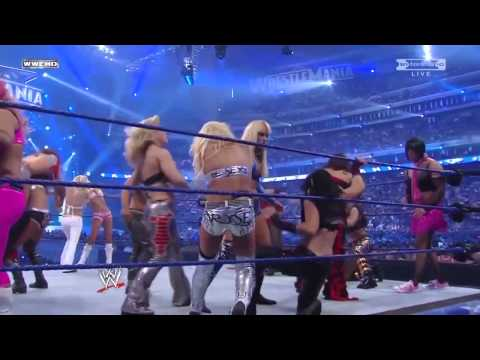 WWE WrestleMania 25 Divas Battle Royal