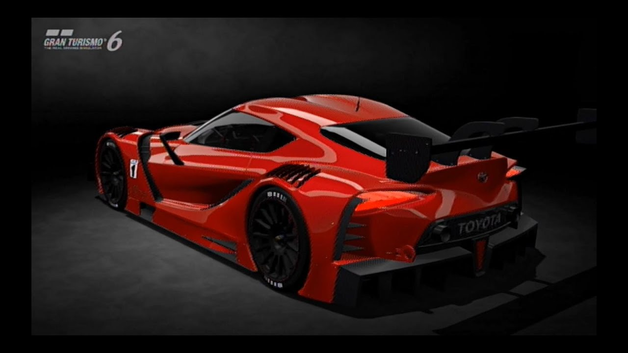 Gt6 Toyota Ft 1 Vision Gt Actualizaci 243 N 1 12 Youtube