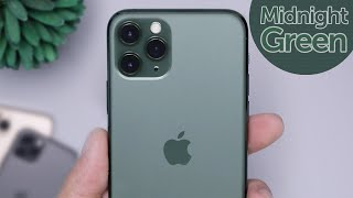 Midnight Green iPhone 11 Pro Unboxing & First Impressions!