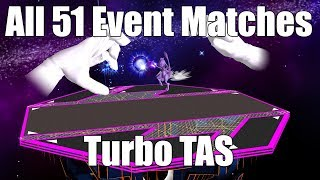 Melee: All 51 Event Matches - Turbo TAS