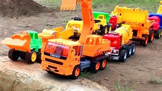 Coches y Camiones Infantiles - Excavator for Kids - Construction Trucks for Children