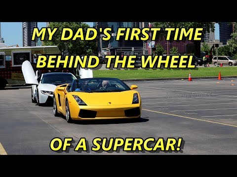 1st Time Behind the Wheel of a Supercar!
