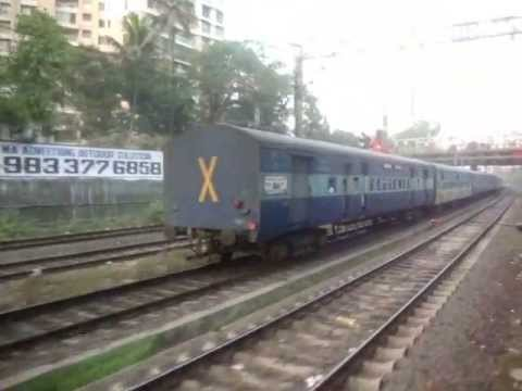 Indian Railways..Overtakes & Crossings shot from EMU's on Central Railway