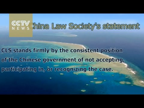 South China Sea: China Law Society issues statement on Philippines arbitration