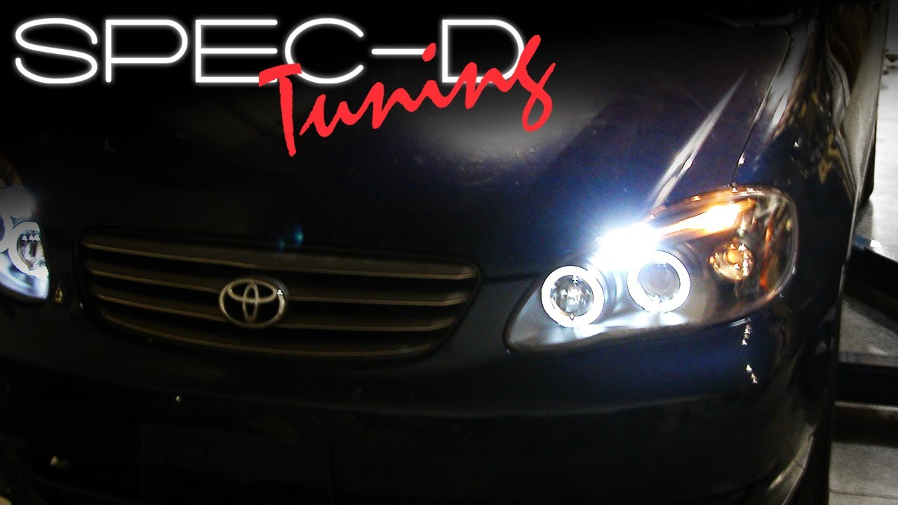 Specdtuning Installation Video 2003 2007 Toyota Corolla