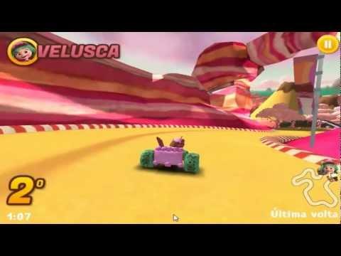 Jogo Corrida Doce do Detona Ralph (GamePlay)