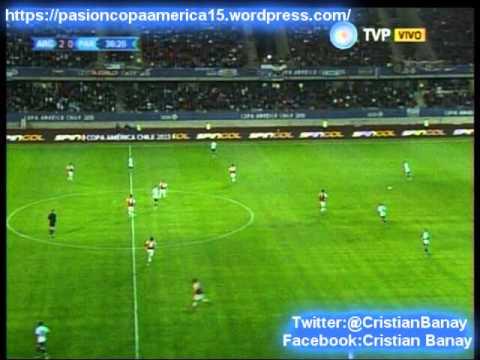 (Relator Enojado) Argentina 2 Paraguay 2 (Relato Daniel Mollo) Copa America 2015