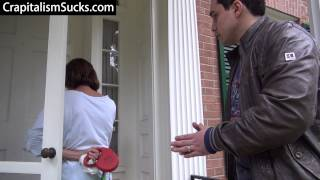 Jason Mattera-Imperious Kike-ess Lois Lerner Tries To Bust In Neighbor's House