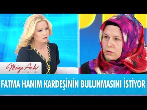 Fatma hanım kardeşinin bulunmasını istiyor - Müge Anlı İle Tatlı Sert 14 Aralık 2017
