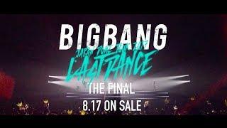 BIGBANG JAPAN DOME TOUR 2017 -LAST DANCE- : THE FINAL (TV-SPOT_DVD & Blu-ray 8.17 on sale)