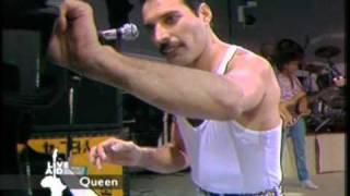Queen Bohemian Rhapsody Radio Gaga Live Aid 1985