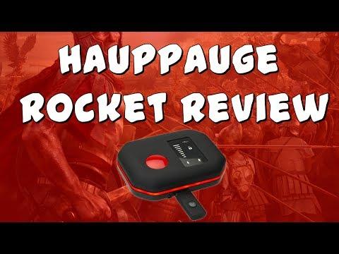 Hauppauge HD PVR Rocket Review, Setup + Testing!