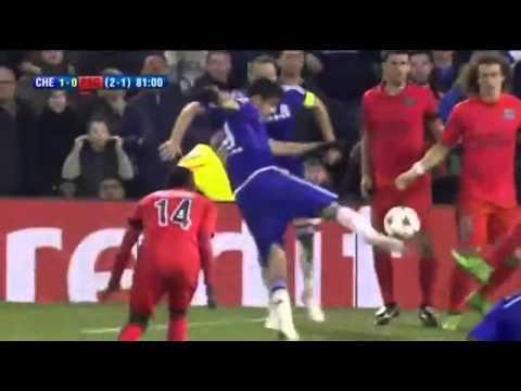 Chelsea 2-2 PSG All goals & Highlights 11.03.2015