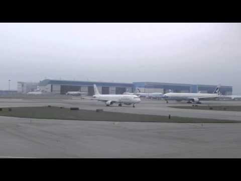 DragonAir KA Airbus A320 takeoff @ Hong Kong Chek Lap Kok airport