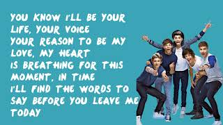 Moments - One Direction (Lyrics)