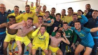 Celebración 'play-off' Villarreal B