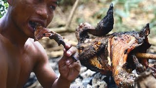 Primitive Technology, Make a trap to catch wild chicken for food