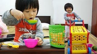 Bé Hà Thanh chơi đồ hàng l Em bé đi siêu thị mua đồ l Super baby Life