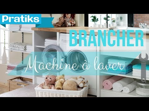 comment brancher une machine laver cuisine salle de bain bricolage youtube. Black Bedroom Furniture Sets. Home Design Ideas