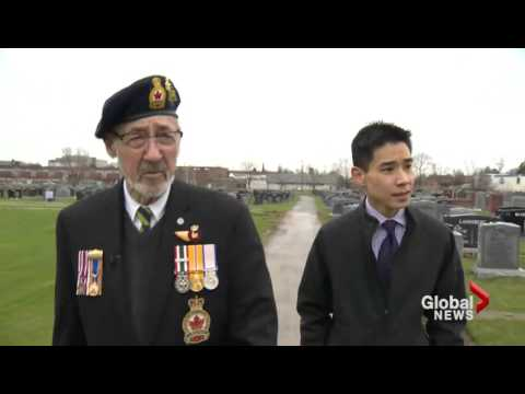 Global News: Graves of Jewish war veterans being flooded by condo development, says caretaker