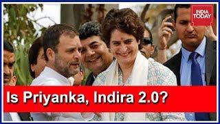 Congress Mega Roadshow In Lucknow : Is Priyanka Gandhi, Indira 2.0?