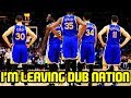 I AM LEAVING DUB NATION. NO LONGER A WARRIORS FAN.