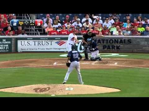 2012/06/20 Archer's MLB debut