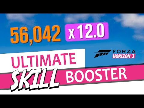 Forza Horizon 3 - Unlimited Skill Points - Best way to BOOST SKILL POINTS