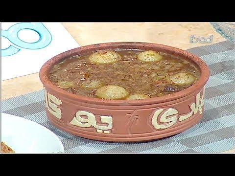 طاجن عكاوي- ارز بالطماطم - البليلة الشيف #نونا من برنامج #البلدى_يوكل #فوود