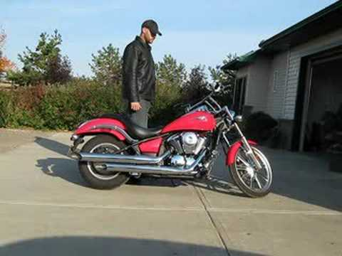 2008 Kawasaki Vulcan 900 Custom Debaffled Exhaust Video
