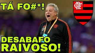 DESABAFO REVOLTADO E RAIVOSO SOBRE ABEL BRAGA NO FLAMENGO!