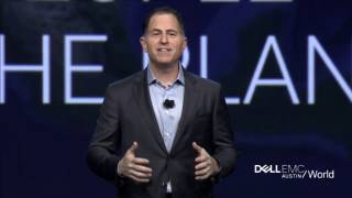 Dell EMC World Keynote (Part 1): Michael Dell and next Industrial Revolution