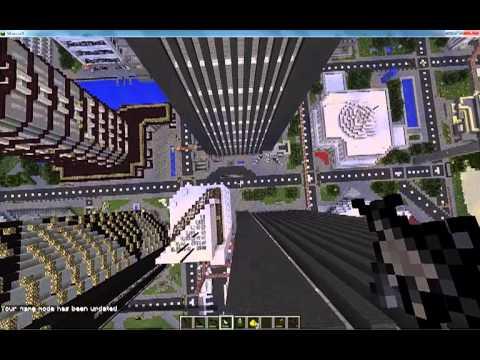 Minecraft Zombie Survival With Guns!!!